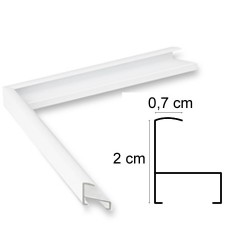 Cadre Aluminium Blanc Mat