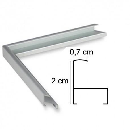 Cadre Aluminium Argent Anodisé