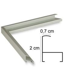 Cadre Aluminium Inox Anodisé
