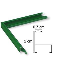 Cadre Aluminium Vert Brillant