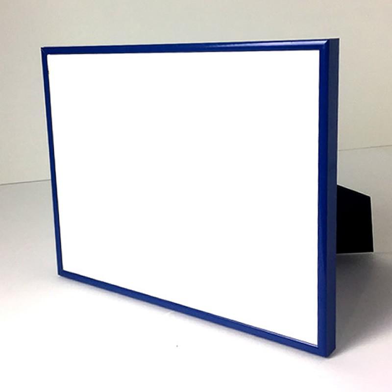 cadre photo bleu 24 x 30 cm cadre en aluminium. Black Bedroom Furniture Sets. Home Design Ideas