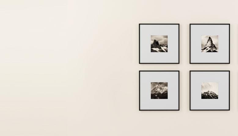 Cadre en aluminium sur mesure pour photos et affiches